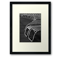 Welcome Aboard ! ~ Part One Framed Print