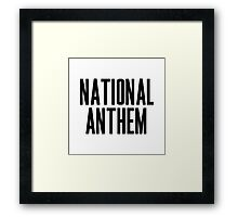 National Anthem Framed Print