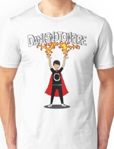 Danisnotonfire: the Superhero Unisex T-Shirt