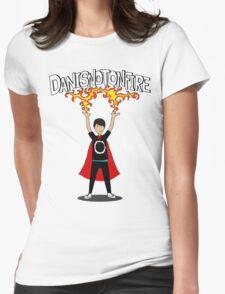 Danisnotonfire: the Superhero Womens Fitted T-Shirt