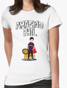 Amazing Phil the Superhero Womens Fitted T-Shirt