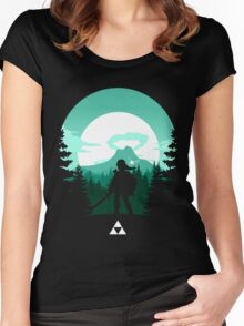The Legend of Zelda (Green) Women's Fitted Scoop T-Shirt