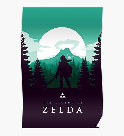 The Legend of Zelda (Green) Poster