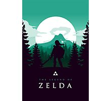 The Legend of Zelda (Green) Photographic Print