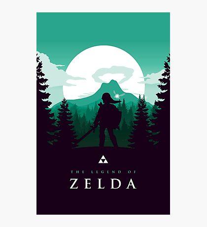 The Legend of Zelda (Green) Photographic Print