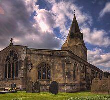 All Saint Church Misterton by Ray Clarke