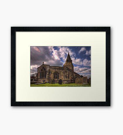 All Saint Church Misterton Framed Print
