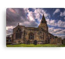 All Saint Church Misterton Canvas Print
