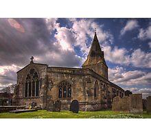 All Saint Church Misterton Photographic Print
