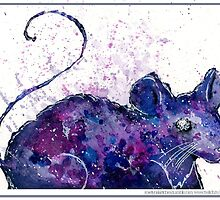 Space Mouse by roselynshade