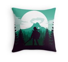 The Legend of Zelda (Green) Throw Pillow