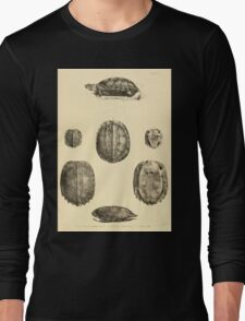 The Reptiles of British India by Albert C L G Gunther 1864 0483 Geormyda Grandis Turtle Long Sleeve T-Shirt