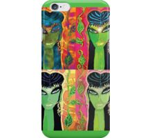 Giribala (quad-panel) iPhone Case/Skin