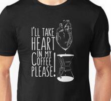 Put your heart into it man! Unisex T-Shirt