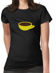 banana-coffee Womens Fitted T-Shirt