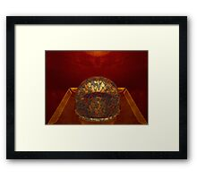 the crown pebbles Framed Print