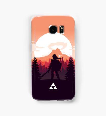 The Legend of Zelda (Orange) Samsung Galaxy Case/Skin