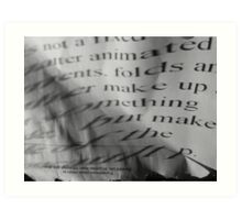 projection of type 4 Art Print