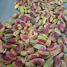 Pistachio by blossoms