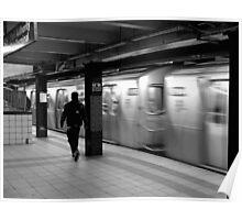 42nd St. Manhatten, N.Y. Poster