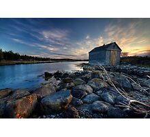 The Boat House Photographic Print