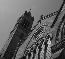 Old South Church in Boston by Christine Barry