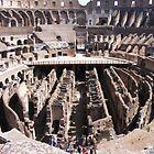 COLOSSEUM INTERIOR ARENA by gracestout2007