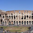 COLOSSEUM in Rome by gracestout2007