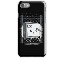 Esc from prison iPhone Case/Skin