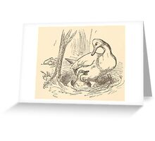 Five Mice in a Mouse Trap Laura Elisabeth Howe Richards and Kate Greenaway 1881 0140 Funny Ducklings Greeting Card