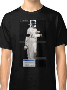 Glitched Grecian Classic T-Shirt