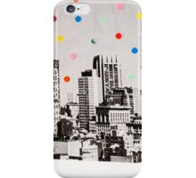city dots iPhone Case/Skin