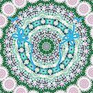 Healing mandala 2 by Lilaviolet