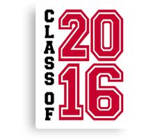 Class of 2016 Canvas Print