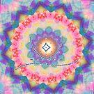 Healing mandala 1 by Lilaviolet