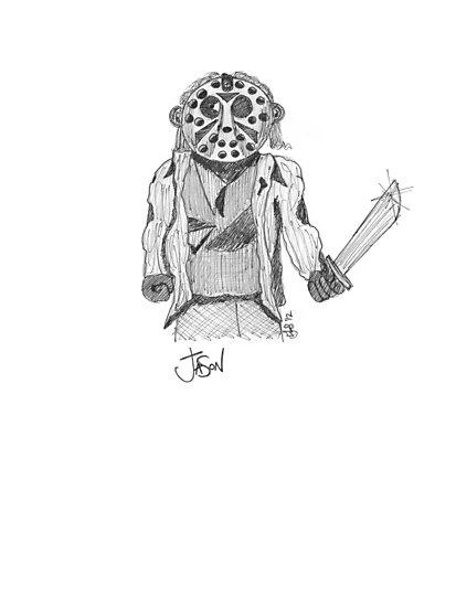 Jason - Movie Serial Killers by Lee Jones
