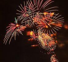 Japanese Parasols – Boston Fireworks by Owed To Nature