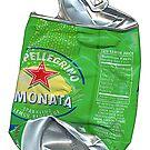 Pellegrino Lemonata, Crushed Pop Art by Dick  Iacovello