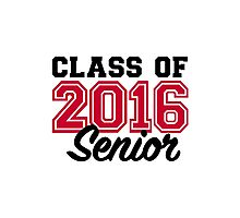 Class of 2016 Photographic Print