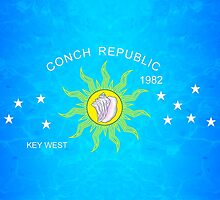 The Conch Republic Flag by BailoutIsland
