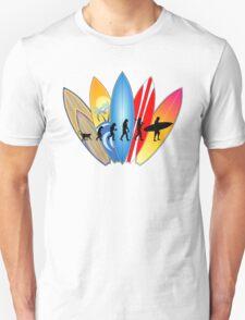 Surfing Evolution Unisex T-Shirt