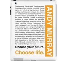 Andy Murray Trainspotting 'Choose Life' design iPad Case/Skin