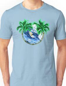 Tropical Surfer Unisex T-Shirt