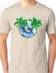 Tropical Surfer Unisex T-Shirt
