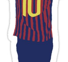Lionel Messi Minimalist design Sticker