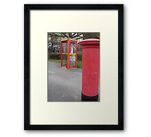 2 Great British Institutions..... Framed Print