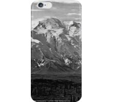 BW USA Alaska Beautiful Mt Mckinley 1970s iPhone Case/Skin