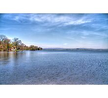 Lake Wisconsin Photographic Print