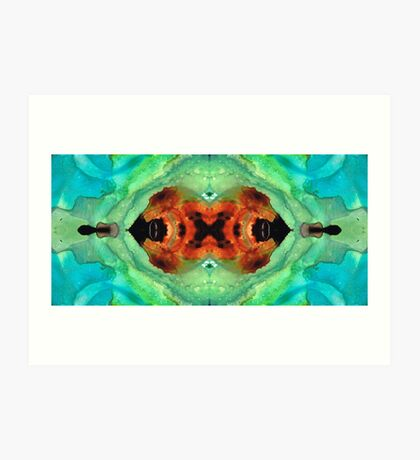 Soul Symphony - Abstract Art By Sharon Cummings Art Print