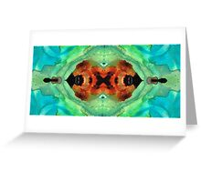 Soul Symphony - Abstract Art By Sharon Cummings Greeting Card